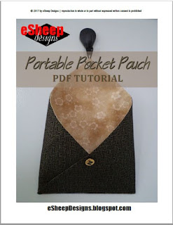 Portable Pocket Pouch by eSheep Designs
