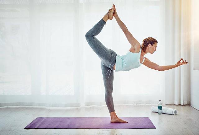 Mỗi ngày một tư thế Yoga | 3-Tư thế vũ công (NATARAJASANA)
