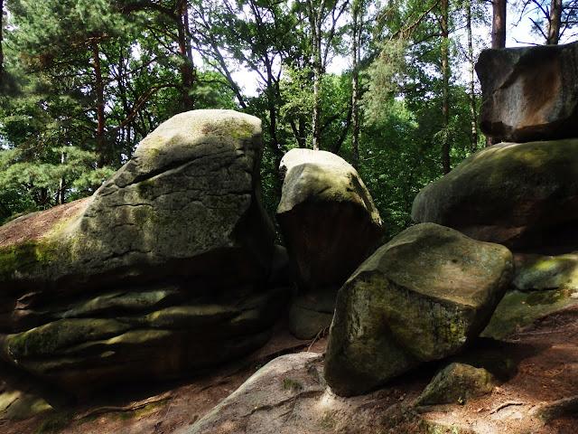 Ciężkowice, rezerwat skalny