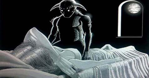 Sleep Paralysis Demon