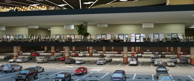 Hầm để xe dự án ECO LAKE VIEW