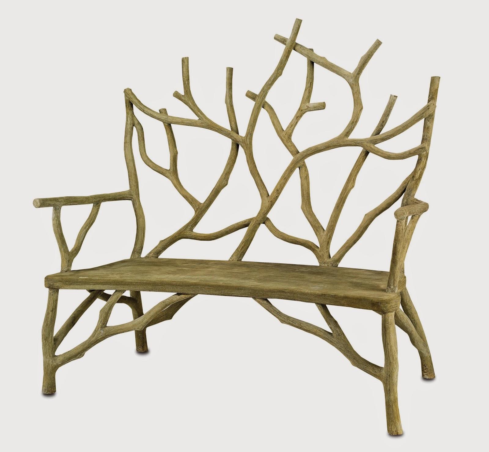 Darya Girina Interior Design: Branches and trunks in modern furniture design and interior design