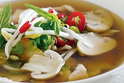 Resep Cara Membuat Sup Jamur Lezat