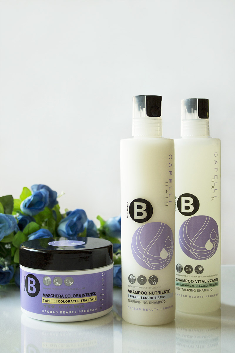 Limoni, Basic Beauty, shampoo, hair mask, baobab