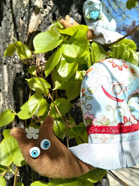 caracoles-de-tela-flor-de-diys