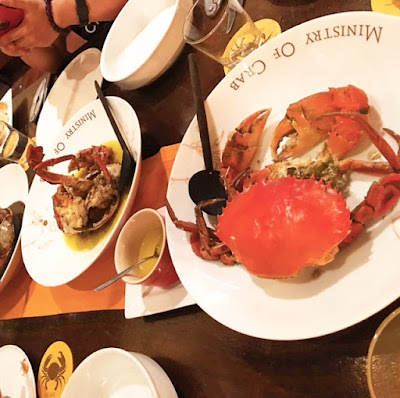 About the Ministry of Crab in Colombo, and the Law of Attraction