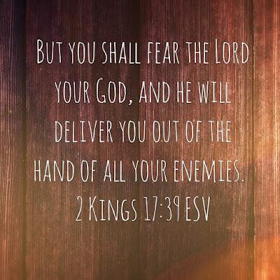 Verse 2: Kings 17:39
