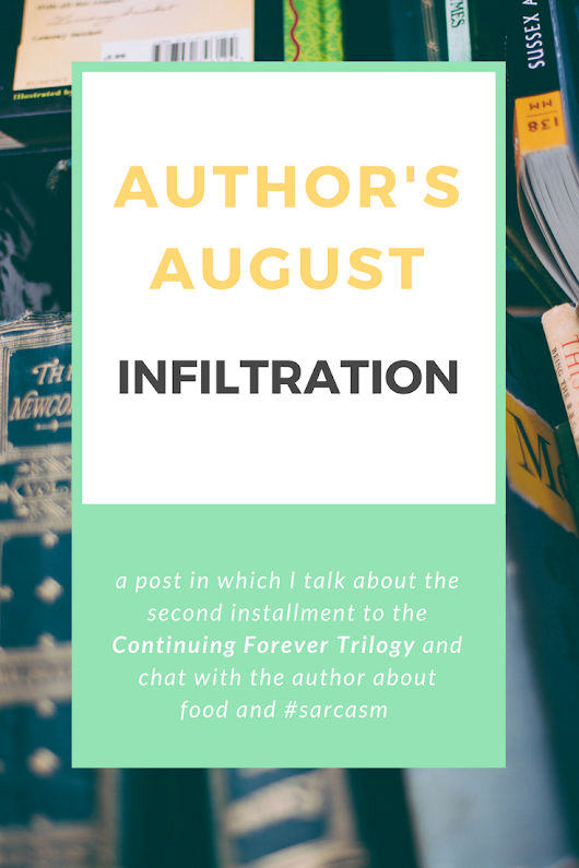 Paper Pizza: Do you enjoy sarcastic, adventurous reads? Then you'll love Infiltration! (Author's August #2)