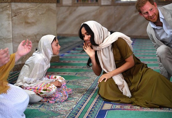The Duke and Duchess of Sussex visited Auwal Mosque in Cape Town