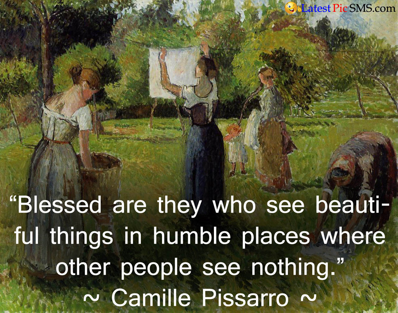 Camille pissarro Beautiful Thought Images