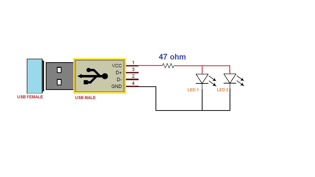 Power Gen Circuit Diagram List Part 2 How To Make Mp3 Player At Home Led Chaser Using 555 Timer Cd4017 Diy Gadget Portable Usb Light 1w Is Made 3cm X 1cm Dimension