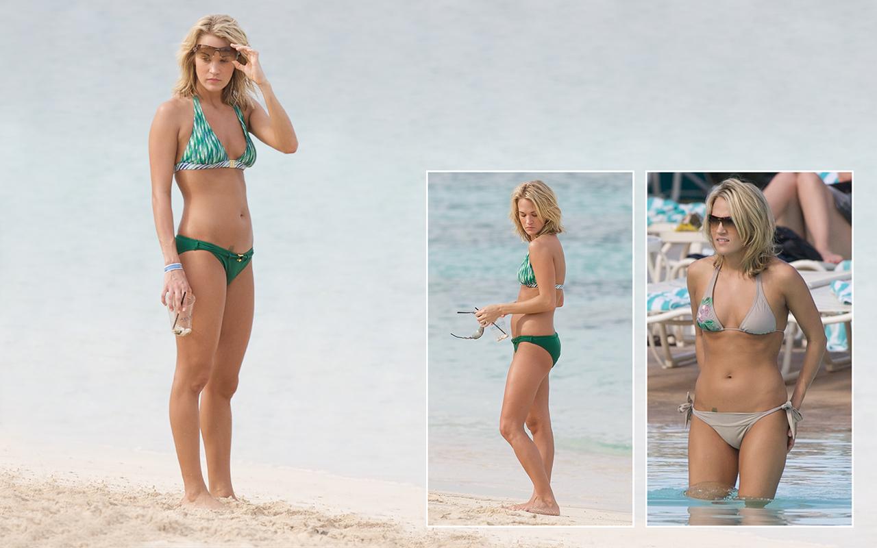 Carrie Underwood Legs Pics Celebrity Access 2012