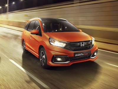 All New 2017 Honda Mobilio Facelift orange image
