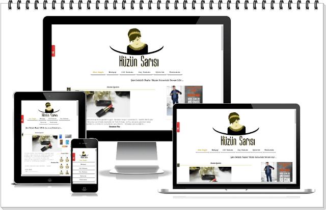 Blog Tasarımı-Hüzün Sarısı