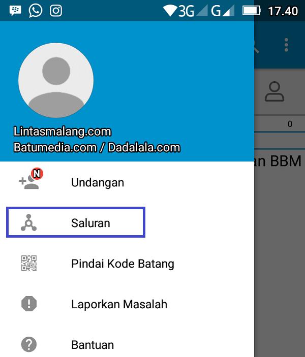 Gabung BBM Channel