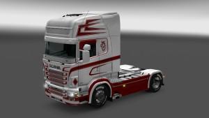 Scania RJL Sundby Transport skin mod