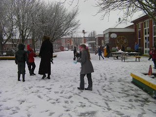 wimborne infants portsmouth snow