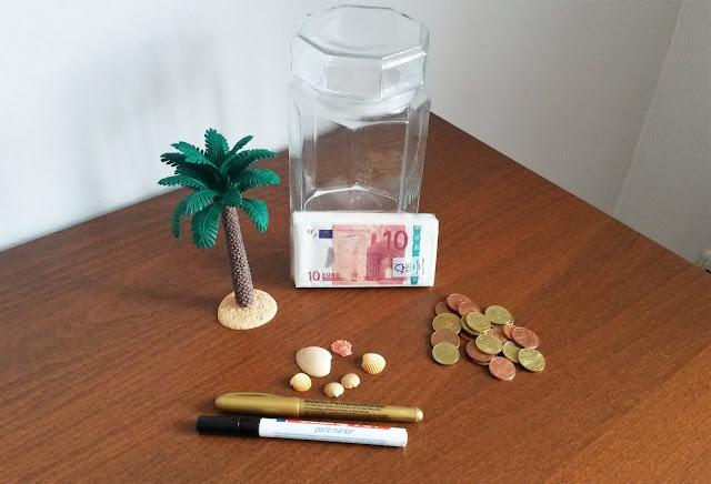süßes und einfaches diy Geschenk Reisekasse