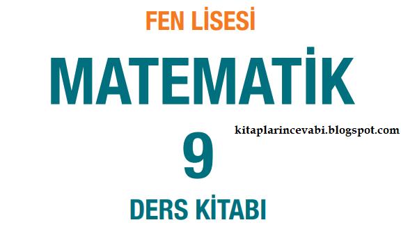 Meb Yayınları Fen Lisesi 9 Sınıf Matematik Ders Kitabı Cevapları