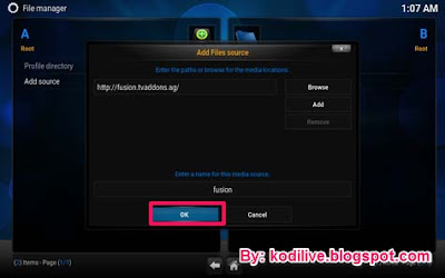 How To Install Fusion Addon In Kodi Step 5