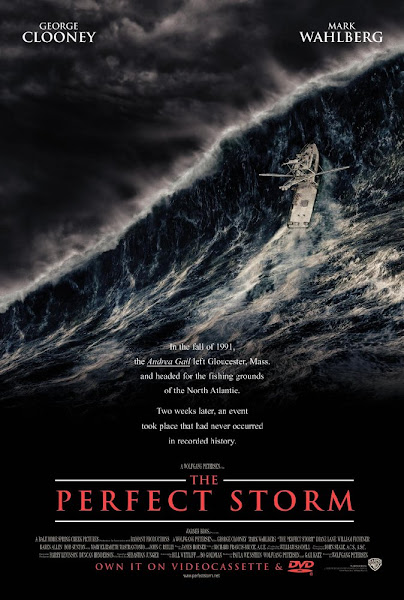 Poster Of The Perfect Storm 2000 720p Hindi BRRip Dual Audio Full Movie Download