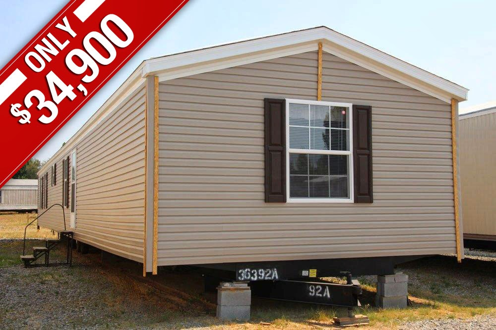 16763A-S-0 Sandlewood Fleetwood Single Wide Mobile Home Floor Plans on