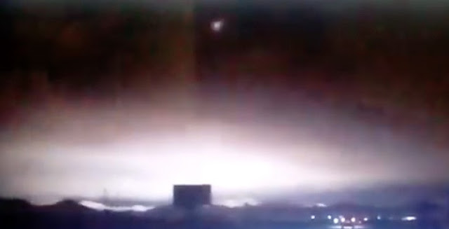 Meteorite seen over Siberia on Dec. 6. Credit: vesti.ru