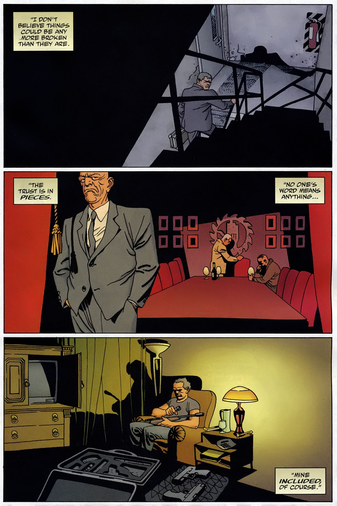Read online 100 Bullets comic -  Issue #97 - 2