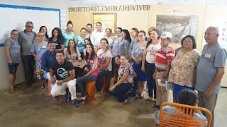 Em Picuí, idosos participam de culminância do projeto 'relembrar é viver'