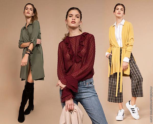 Moda 2018: Looks de moda para mujer urbanos y femeninos Swa Mi. | Moda otoño invierno 2018.
