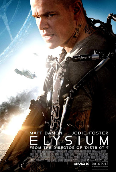 Elysium Poster - Matt Damon