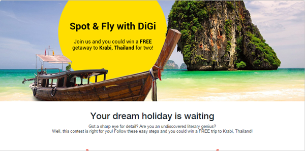 Fly me to Krabi with DiGi & Malindo Air!