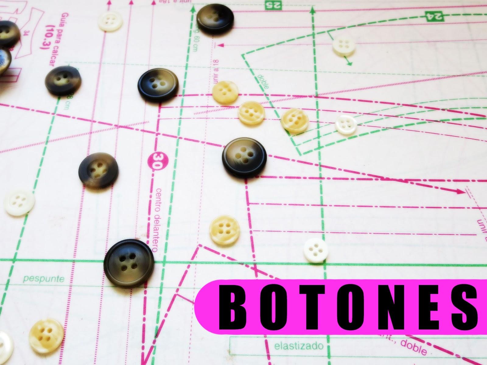 Cómo elegir y coser botones - Coser es fácil