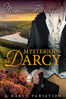 Book cover: Mysterious Mr Darcy by Monica Fairview