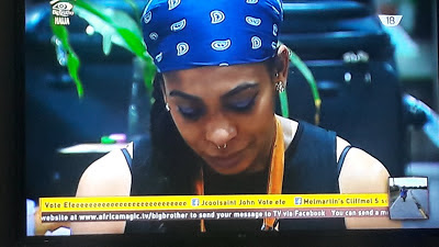#BBNaija: TBoss Cannot Recite The National Anthem And Pledge (Video)