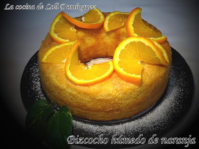 Bizcocho Húmedo De Naranja