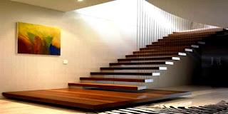 model tangga rumah minimalis paling populer