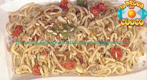 Pici all'aglione ricetta Messeri da Prova del Cuoco