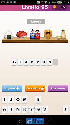 Emoji Quiz soluzione livello 95