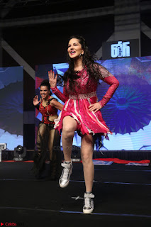 Sunny Leone Dancing on stage At Rogue Movie Audio Music Launch ~  206.JPG