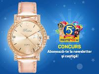 Castiga un superb ceas de dama