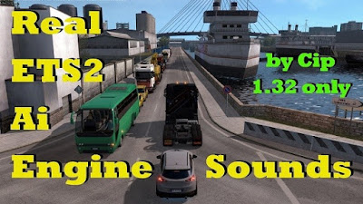 Real AI Traffic Engine Sounds ETS2