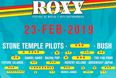 Conciertos mes febrero 2019