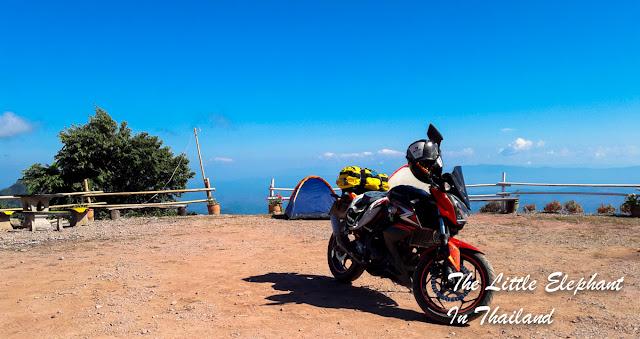 View point near Khun Sathan National Park in Nan - Thailand