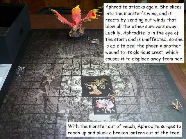 Kingdom Death Monster Phoenix Showdown