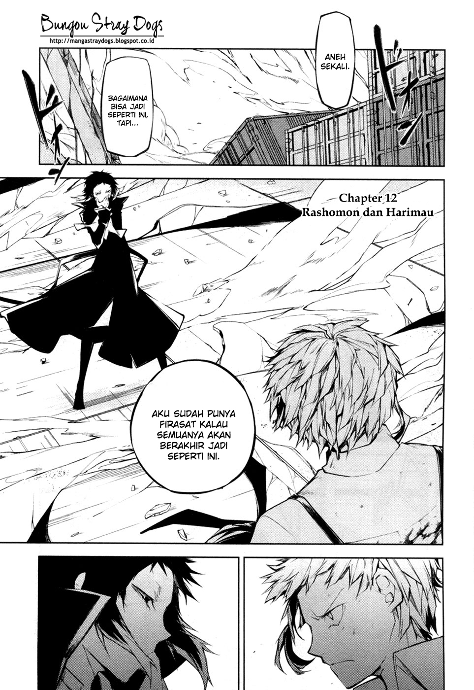 Bungou Stray Dogs Chapter 12-2
