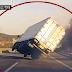 VÍDEO: Caminhão fica sobre duas rodas, motorista controla o veículo e faz manobra espetacular, assista