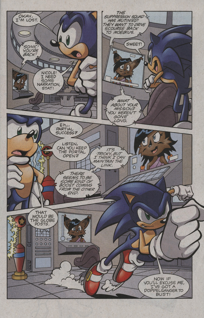 Read online Sonic The Hedgehog comic -  Issue #194 - 13