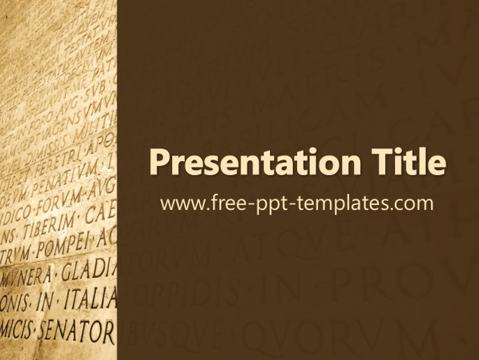Powerpoint template change language images powerpoint template latin ppt template toneelgroepblik images toneelgroepblik Choice Image
