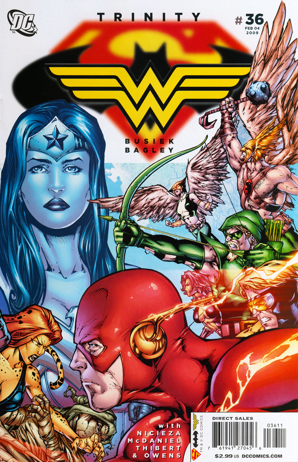Read online Trinity (2008) comic -  Issue #36 - 1